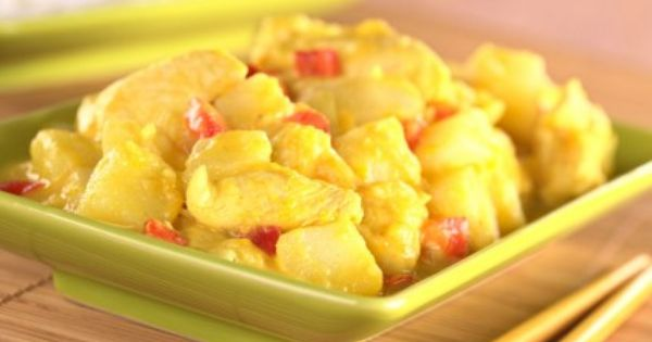 كاري الدجاج والمانجو Mango Chicken Mango Chicken Curry Curry Chicken