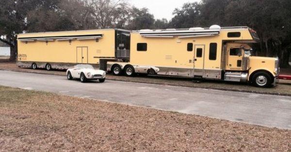 Custom Built Travel Trailers >> Peterbilt Toterhome Related Keywords & Suggestions - Peterbilt ...   semi truck motor home ...