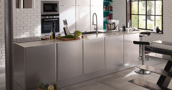 cuisine cooke lewis subway inox castorama h o m e pinterest cats and cuisine. Black Bedroom Furniture Sets. Home Design Ideas