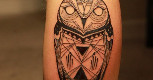 Owl Tattoos Ideas: Cool And Artistic Design! - cool owl tattoo design