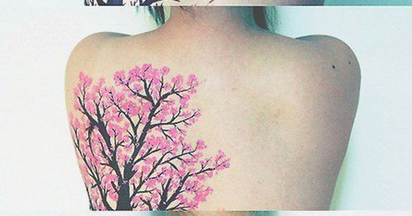 Best process of getting a tree tattoo