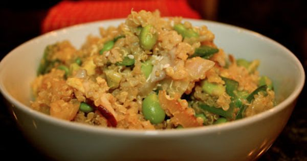 Quinoa fried rice, Fried rice and Quinoa on Pinterest