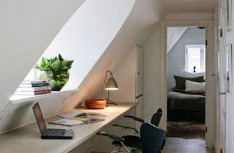 5 Glorious Attic Renovation Cost Ideas In 2020 Home Office Design Loft Room Loft Spaces