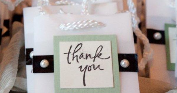Wedding Thank You Gifts Pinterest : thank you gift bags for your guests-villa siena-#arizona #weddings ...