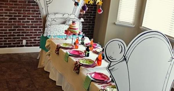 Use for an alice in wonderland Party Ideas| http://party-ideas-collections-440.blogspot.com