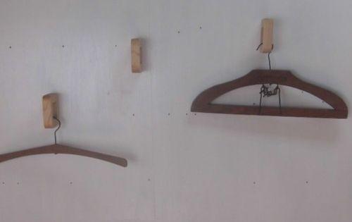 3個セット 壁掛けハンガーフック コートフック Type D 国産