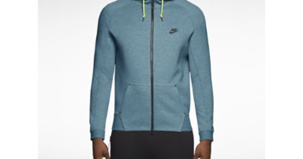 Nike AW 77 SW Long W Hooded Zipper rot