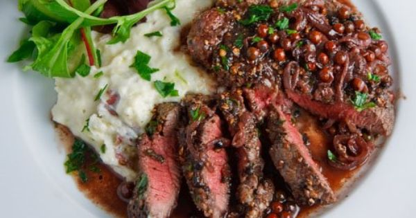 ... Pink Peppercorn Sauce | Recipe | Peppercorn Sauce, Steaks and Sauces
