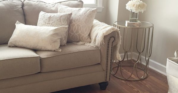 Cozy living room warm beige and whites paint color for Warm beige paint colors for living room