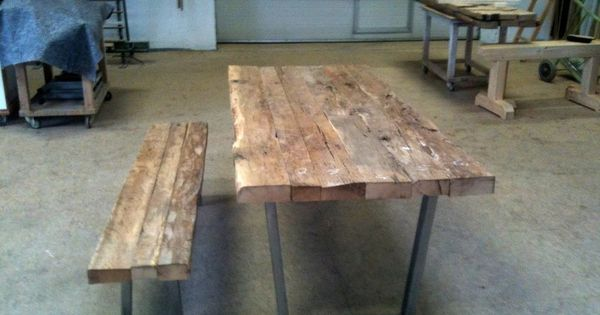 Details Zu Altholztisch Tisch Altholz Alte Eiche Rustikal Massiv Esstisch Industriedesign