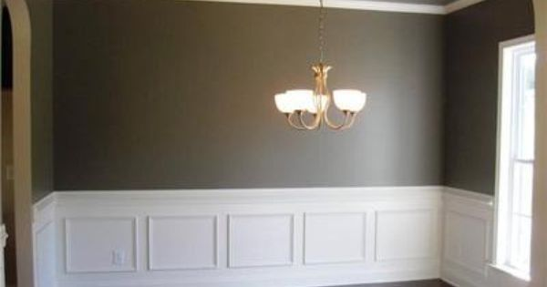 molding for the dining room wall | Formal Dining Room, Recessed ...