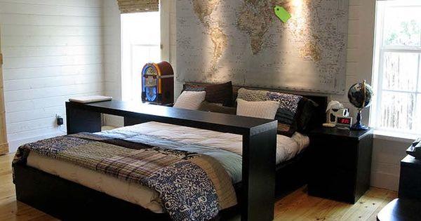 8 gezellige slaapkamer idee n die je bed opwaarderen slaapkamer pinterest gezellige - Tienerjongen slaapkamer ...
