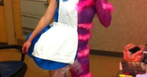 Alice In Wonderland / Cheshire Cat - DIY Halloween Costume