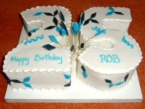 25th Birthday Ideas With Images Birthday Cakes For Men 25th