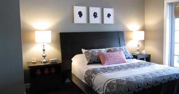 Master Bedroom Gray Walls