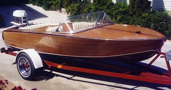 Glen-L Zip with walk-through bridge deck   Glen-L Zip   Pinterest   Wood boats, Chris craft ...