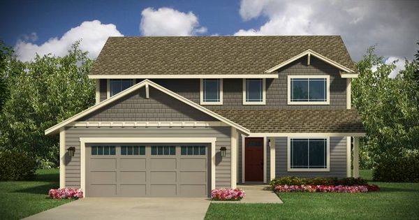 Adair Homes Plan 2512 2 Story 5 Bedroom 2 5 Bathroom