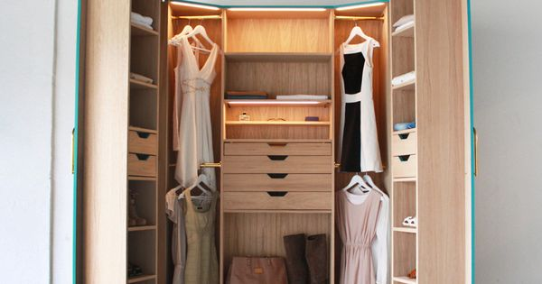 Hosun Ching S Walk In Closet A Wardrobe That Cleverly