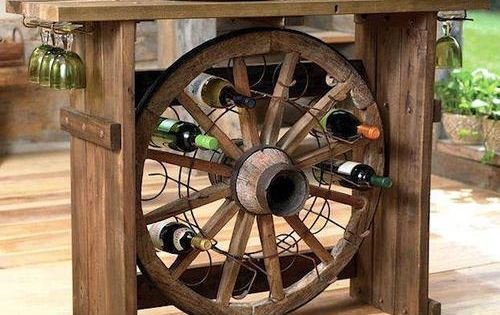 Rustic Home Wine Drinking Center - need to have Jim help me