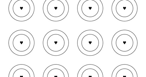 French Macaroon Piping Template Macarons Pinterest