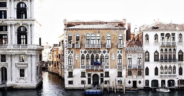 Venice, Italy; Laura McKittrick, The Greenwich Girl: a luxury lifestyle brand and