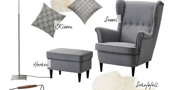 collage interior leseecke reading corner ikea wohnzimmer livingroom sessel. Black Bedroom Furniture Sets. Home Design Ideas