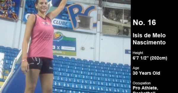 Isis de Melo Nascimento (6'7 1/2″) | Tall Women - Female ...
