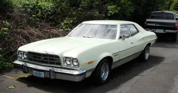 1973 Ford Gran Torino Ford Torino Ford Classic Cars Muscle
