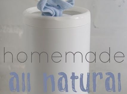 homemade ginger: Homemade Natural Series: Homemade Cleaning Wipes