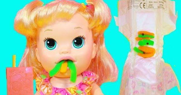 Baby Alive Eats Play Doh Super Snacks Snackin Sara Doll