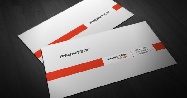 Free Printly Psd Business Card Template Printly Design