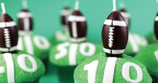SuperBowl Party Idea! (Would have to change the team colors!)