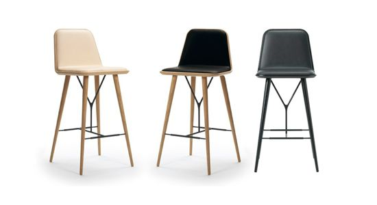 Scandinavian Modern Design Chairs Fredericia Space Copenhagen 1730 Spine Barstool In Hong Kong Barstol