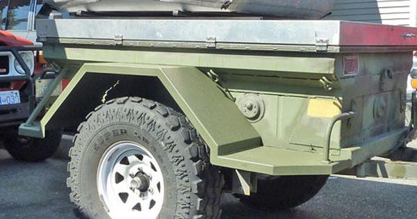 Jeep Off Road >> off road trailer fenders - Google Search | Off Road Trailers | Pinterest | Trailer tent