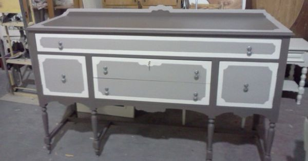 Painted Buffets Painted Furniture Vintage Painted