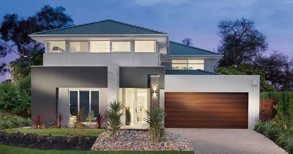Facade colours change garage door to white or grey for Change the exterior of your house