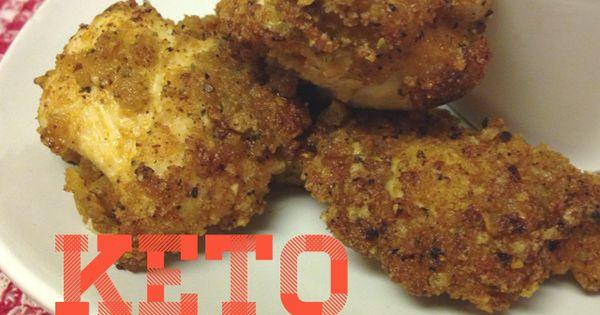 Keto Crispy Fried Chicken | Crispy fried chicken and Keto