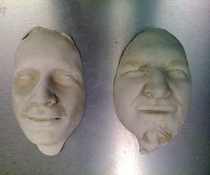 How To Cast A Face In Plaster Plaster Crafts Diy Plaster Paris Crafts