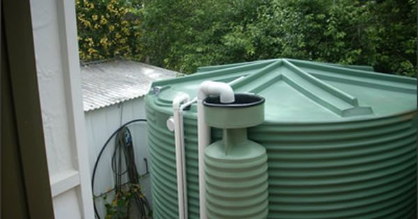 Poly Tank Plumbed With Flush Device Installation Perth Australia Rain Water Tank Poly Tanks Australia Vacation