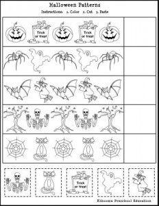 Free Printable Halloween Math Worksheet for Kids | Halloween ...