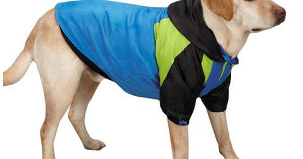 Kong 3 in 1 Dog Jacket with Fleece Liner, Hood & Winter Coat