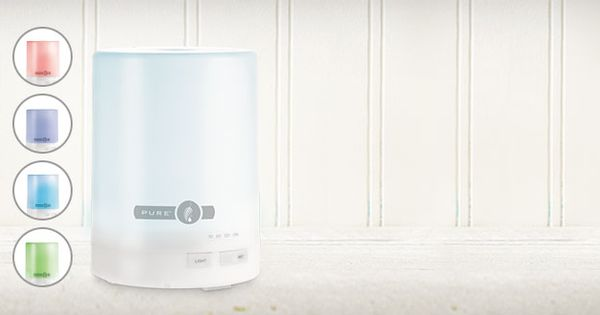 New PURE™ Ultrasonic Diffuser & Humidifier—Aromatic Bliss ...
