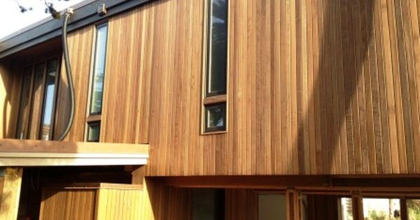 Ipe Rain Screen Vertical Installation Wood Siding Options Siding Options Modern