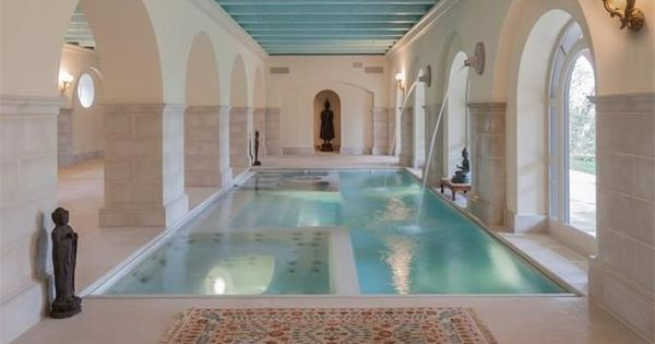 Indoor Pool And Spa With Beautiful Arches In Annapolis