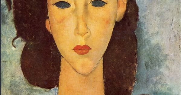 Painting by Amedeo Modigliani. I love it ... but ...