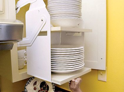 Pull Down Shelves In An Overhead Cabinet Are Capable Of