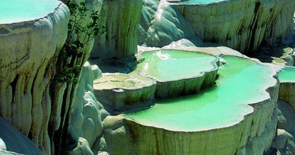 Natural Rock Pools, Pamukkale, Turkey -- Bucket list --