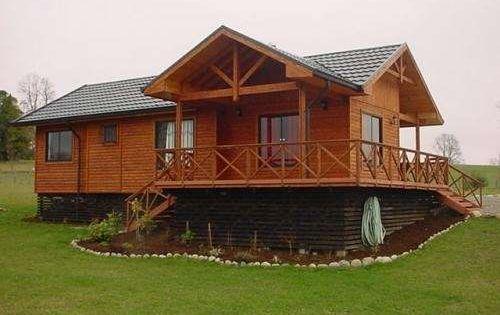 Casas de madera casas prefabricadas cabaas chalets - Bungalows de madera prefabricadas precios ...