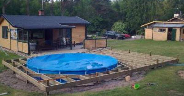 Billig inbyggd pool s k p google utedusch pinterest for Pool billig