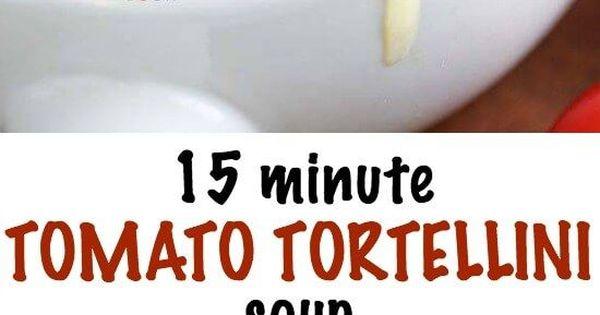 Tortellini, Tomaten and Suppen on Pinterest